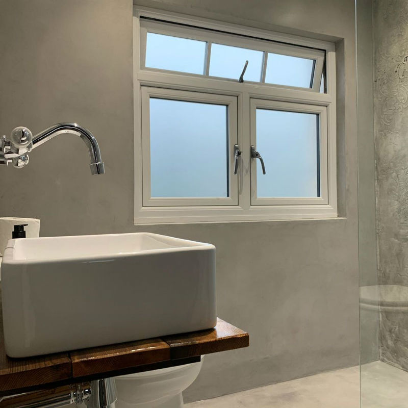 Venetian Plaster Calce & Calce -Bespoke Venetian Plaster Wet Room 2