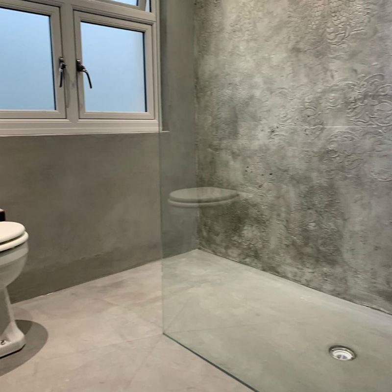 Venetian Plaster Calce & Calce -Bespoke Venetian Plaster Wet Room