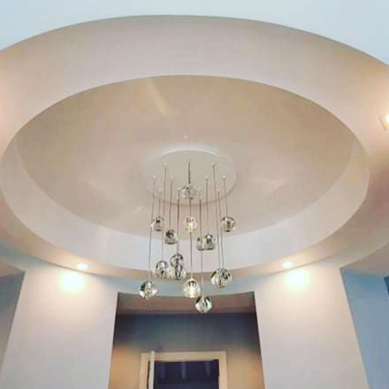 Venetian Plaster Calce & Calce -Feature Ceiling